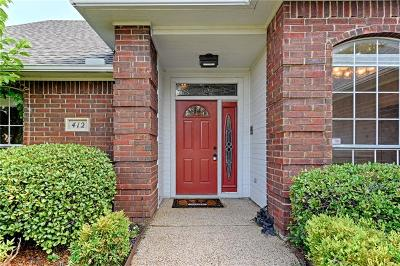 Coppell Single Family Home For Sale: 412 Parkview Place