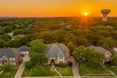 Southlake Single Family Home For Sale: 628 Trailhead Drive