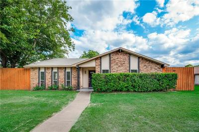 Grand Prairie Single Family Home Active Option Contract: 2101 Wilderness Trail