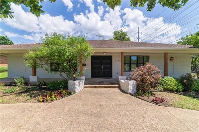 Dallas Single Family Home For Sale: 6716 E Mockingbird Lane