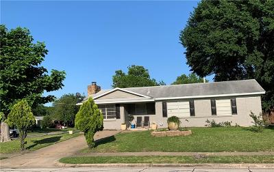 Garland Single Family Home Active Option Contract: 1614 Mercury Drive