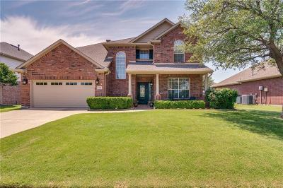 Flower Mound Single Family Home Active Option Contract: 1501 Stone Bend Lane