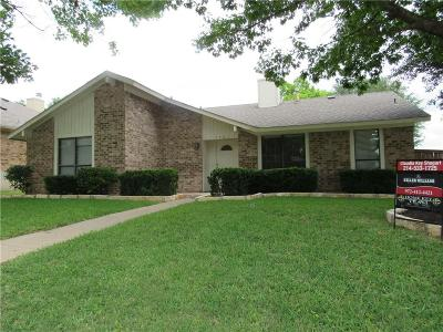 Garland Single Family Home Active Option Contract: 3701 Downs Way