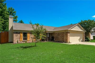 Garland Single Family Home Active Option Contract: 2222 Country Oaks Drive
