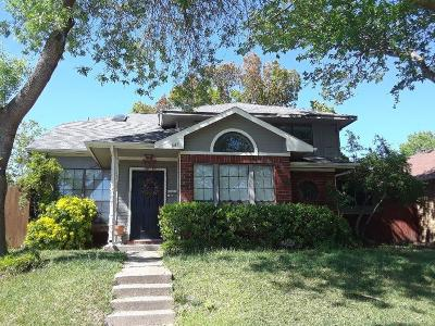 Collin County Single Family Home Active Option Contract: 647 Albrook Drive