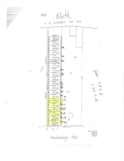 Grayson County Residential Lots & Land Active Option Contract: Lot 15 Gant Road