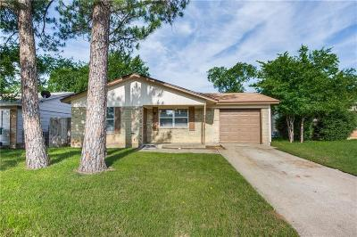 Denton Single Family Home Active Option Contract: 1012 Reed Street