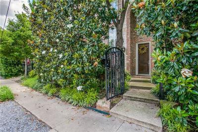 Dallas Townhouse For Sale: 3526 Prescott Avenue