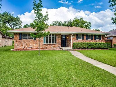 Dallas Single Family Home For Sale: 5120 Ashbrook Road