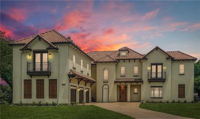 Colleyville Single Family Home For Sale: 2600 Sherwood Lane
