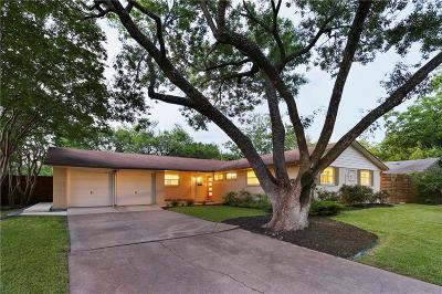 Dallas, Addison Single Family Home For Sale: 3541 Woodleigh Drive