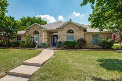 Allen Single Family Home Active Option Contract: 1013 Ridgemont Drive