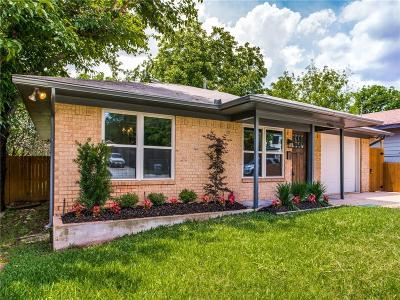 Dallas TX Single Family Home Active Contingent: $279,000