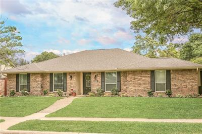 Plano Single Family Home Active Option Contract: 3108 Oxford Court