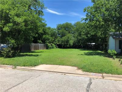 White Settlement Residential Lots & Land Active Contingent: 8508 Raymond Avenue