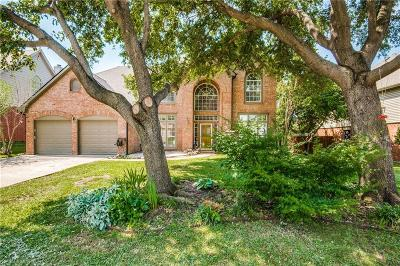 Grapevine Single Family Home Active Option Contract: 2137 Branchwood Drive