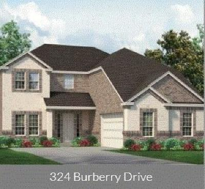 Grand Prairie Single Family Home For Sale: 324 Burberry Drive