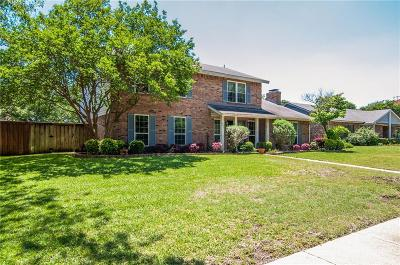 Richardson Single Family Home Active Option Contract: 1908 Forestwood Drive