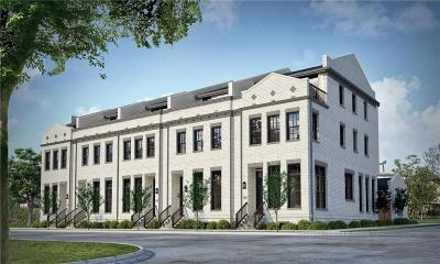 Fort Worth Townhouse For Sale: 2802 Wingate Street