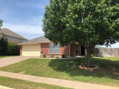 Burleson Single Family Home Active Option Contract: 337 Shane Lane