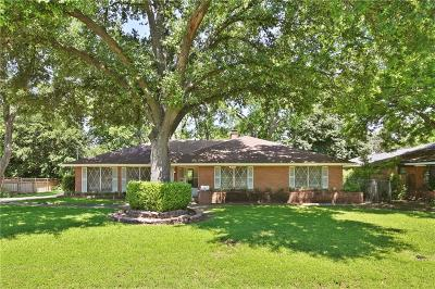 Dallas Single Family Home For Sale: 2039 Elmwood Boulevard