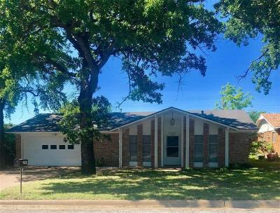 Mineral Wells Single Family Home Active Option Contract: 2909 SE 5th Street