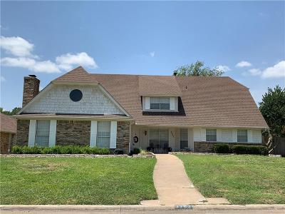 Grand Prairie Single Family Home For Sale: 3702 Cyrus Court