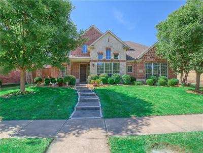 Allen Single Family Home For Sale: 1606 Country Bend