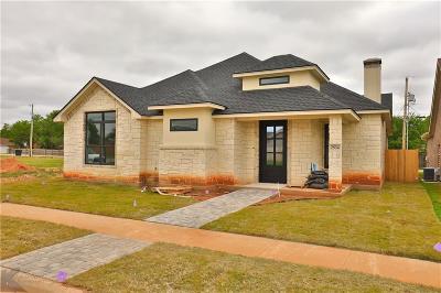 Abilene Single Family Home For Sale: 2534 John C Stevens Street