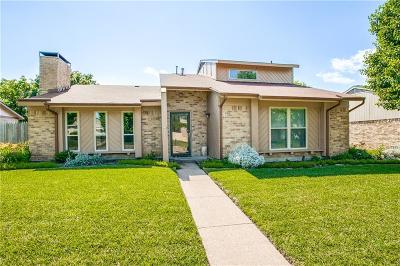 Richardson Single Family Home Active Option Contract: 1105 Elk Grove Drive