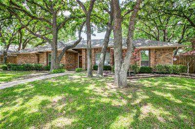Coppell Single Family Home Active Option Contract: 252 Simmons Drive