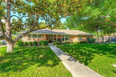 Richardson Single Family Home Active Option Contract: 905 Newberry Drive