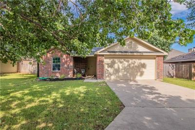 Denton Single Family Home Active Option Contract: 601 Pace Drive
