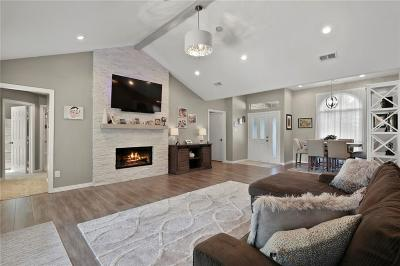 Grapevine Single Family Home For Sale: 1712 Parkwood Drive