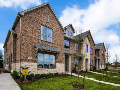 McKinney Townhouse For Sale: 3900 Sukay Drive