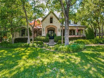 Flower Mound Single Family Home For Sale: 3011 Creek View Drive