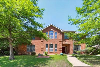 Richardson Single Family Home Active Option Contract: 5401 Palace Drive