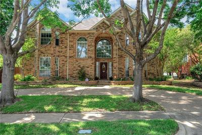 Plano Single Family Home Active Option Contract: 725 Pine Lakes Drive