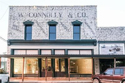Hico Commercial For Sale: 102 N Pecan Street