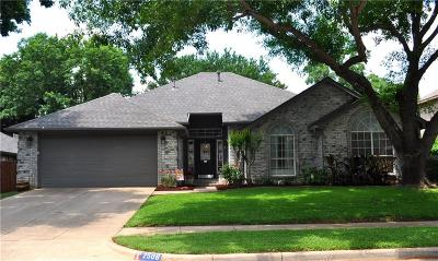 Flower Mound Single Family Home Active Option Contract: 2508 Branch Oaks Lane