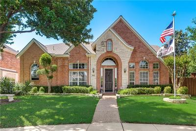 Coppell Single Family Home Active Option Contract: 523 Loxley Drive