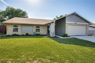 Carrollton Single Family Home For Sale: 2827 Arcadia Lane