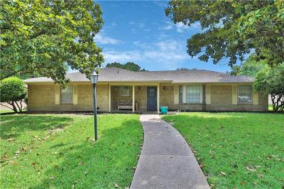 Plano Single Family Home Active Option Contract: 2628 Natalie Drive