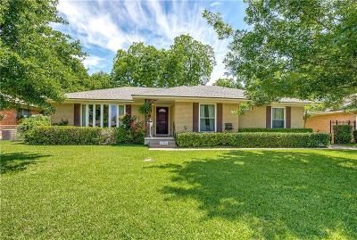 Garland Single Family Home Active Option Contract: 1906 Patton Drive