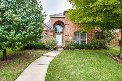Allen Single Family Home For Sale: 819 Soapberry Drive