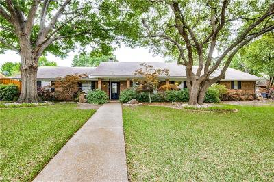 Dallas, Addison Single Family Home Active Option Contract: 4082 Deep Valley Drive