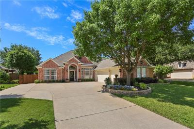 Flower Mound Single Family Home Active Option Contract: 4305 Saddle Ridge Trail