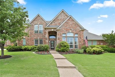 Prosper Single Family Home For Sale: 520 Rock Hill Road
