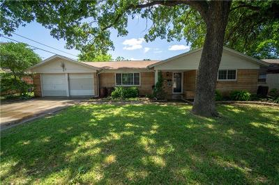 Euless Single Family Home For Sale: 1603 Toplea Drive