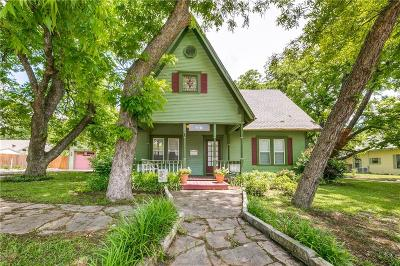 Kaufman Single Family Home Active Option Contract: 207 S Houston Street